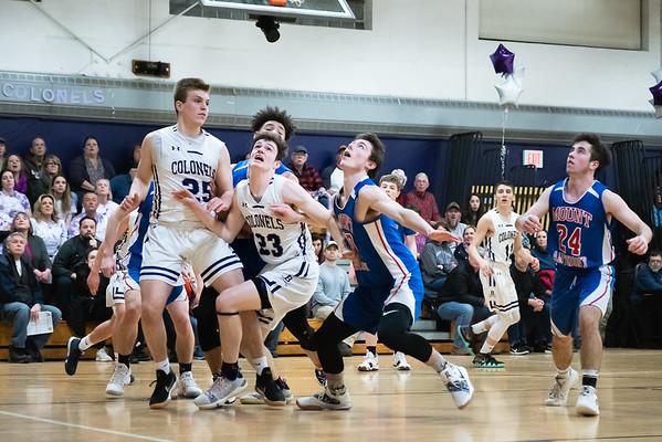 BUHS boys basketball vs. MAU-Senior Night 030119