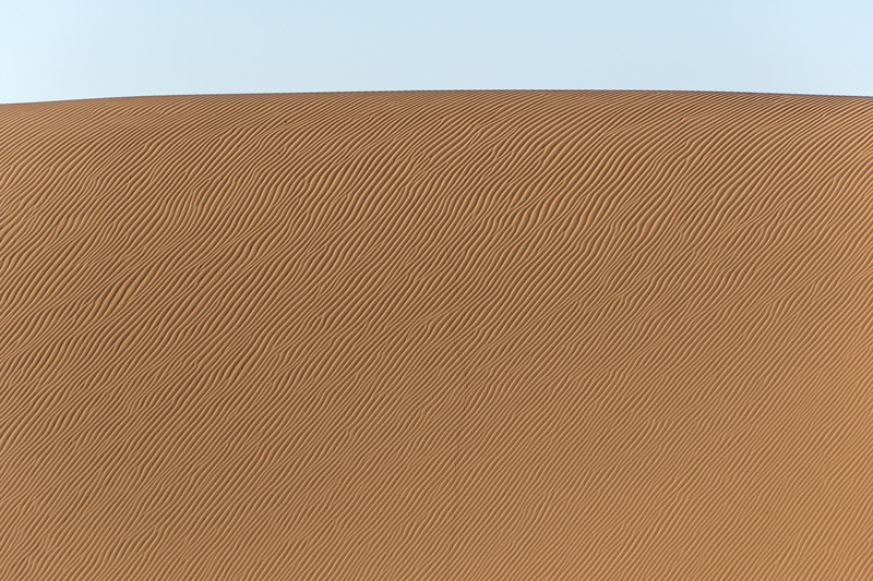 Desert Dunes with all kinds of crazy lines