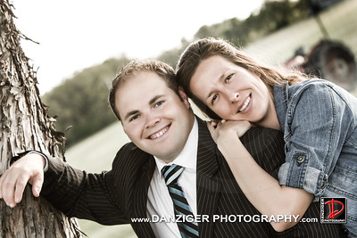 Natalie Vogt and Tim Patterson engagement