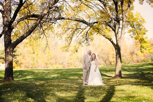 amanda + davey = married!