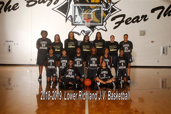 2018-2019 JV Basketball