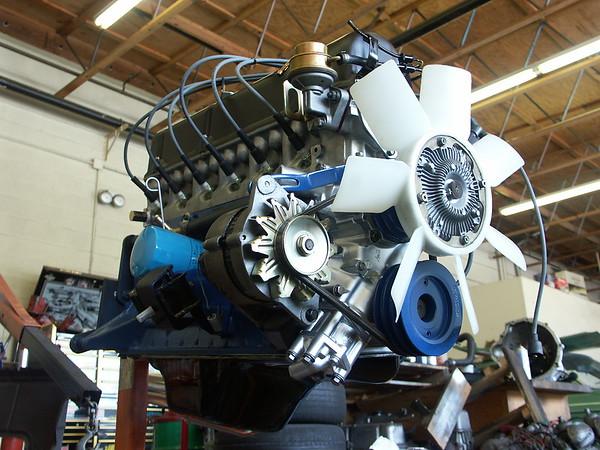 engine remove&restore - July 2005