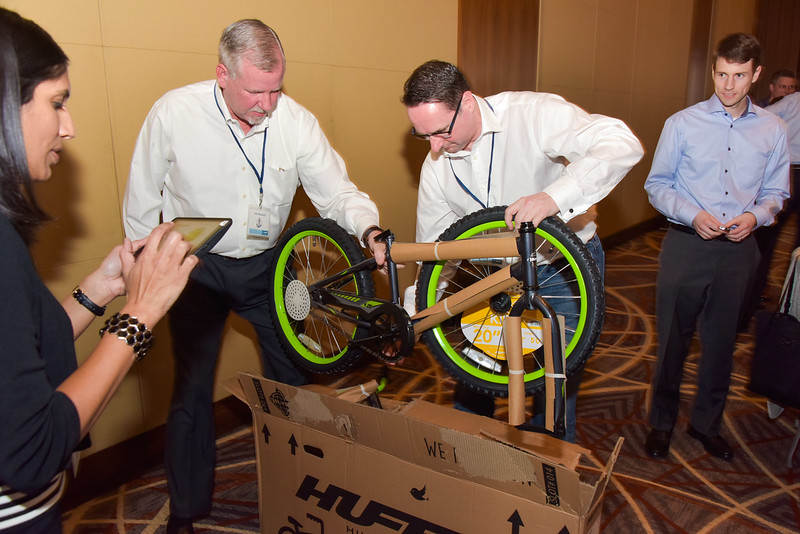 DAY TWO: Bicycle Building Teams