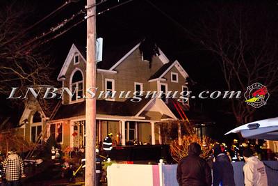 Copiague F.D. House Fire 55 Santa Barbara Road W. 12-28-11