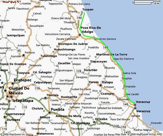 3 day Tuxpan to Veracruz red line.JPG