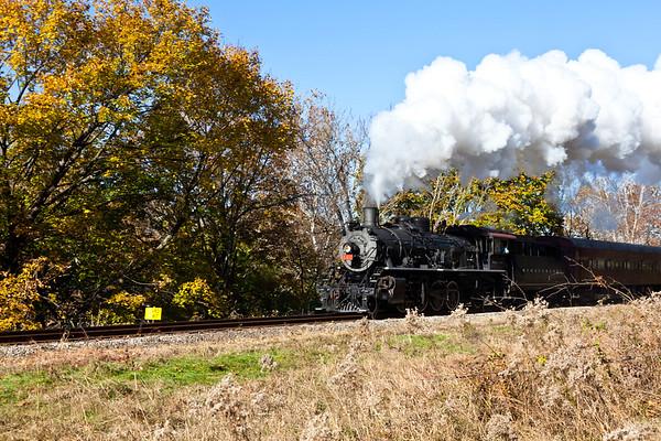 11/5/11 BELVEDERE & DELAWARE RAILROAD PHOTO CHARTER