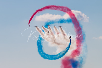 Red Arrows Aerobatic Team