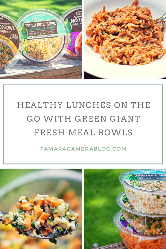 #GreenGiantFreshPartner All I need for lunch is 1 egg and a Green Giant Fresh Meal Bowl as part of my healthy routine! #GGFMealBowls #GGF #GetYourMealBowlOn