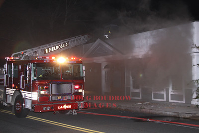Melrose, MA - 2nd Alarm, 150 Green Street, 10-8-11