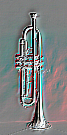 Early Trumpet Embossed Fine Art Photographic Prints