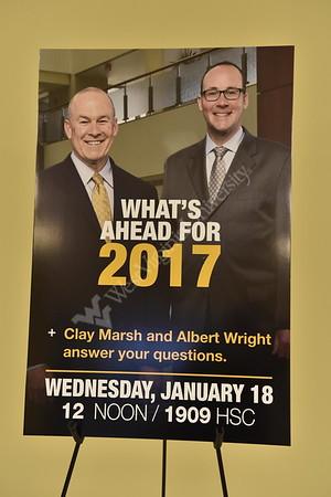 33042 WVU Medicine Town Hall Meeting Clay Marsh Albert Wright Jan 2017