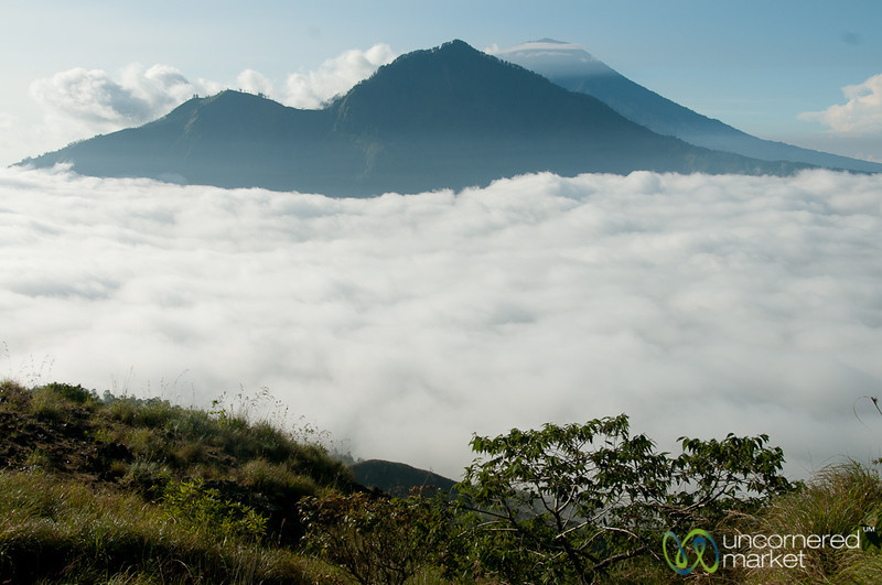 Looking Out at Mt. Agung - Bali, Indonesia