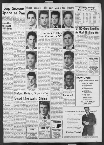Daily Trojan, Vol. 43, No. 52, November 30, 1951