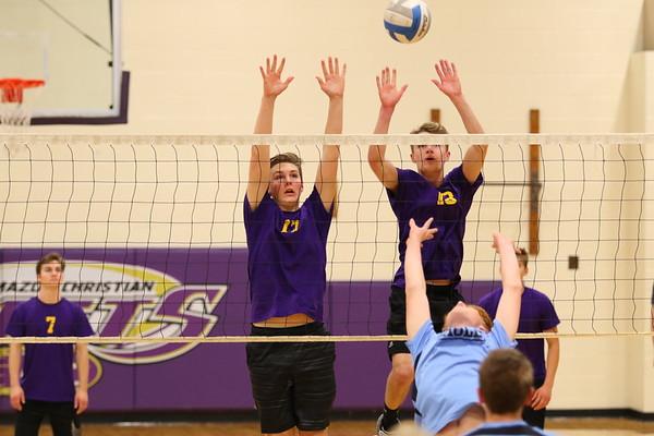 Volleyball Boys vs GR Christian - KCHS - 5/10/18