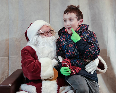 2017 Visit with Santa