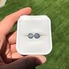 4.08ctw Old European Cut Diamond Pair, GIA I VS2, I SI1 40