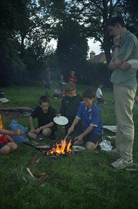 Cubs Cooking on Fires