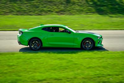 2021 SCCA TNiA  Aug 27 Pitt Adv Green Camaro