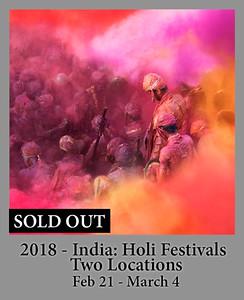 02-20-2018 India Holi Festivals