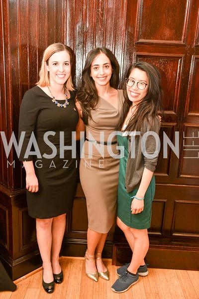 Christine Bannan, Natasha Babazadeh, Enid Zhou,  Public Citizen's Gala, National Press Club, April 24, 2018-6379.JPG