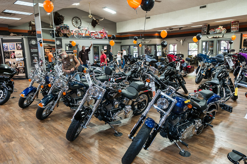 Open House, Wild West Harley Davidson, 8-27-2016