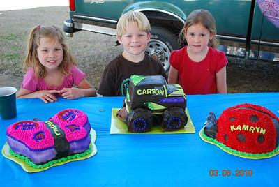Triplet 5th Birthday