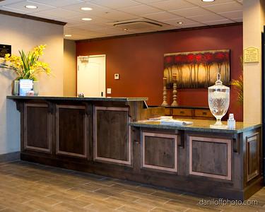 Saunders Best Western Hotel, Layton, Utah - Anvil Cabinet & Mill