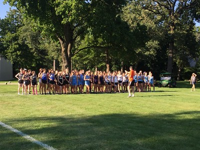 Girls Varsity and JV cross country