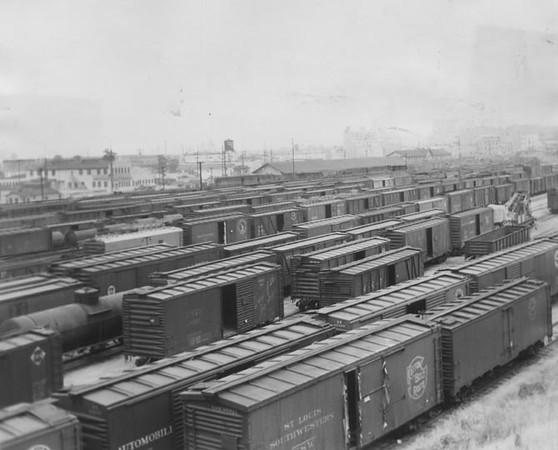1946,  Railroad Cars