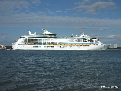 31 Aug 2014 AOTS, AZURA, OCEANA, QUEEN VICTORIA