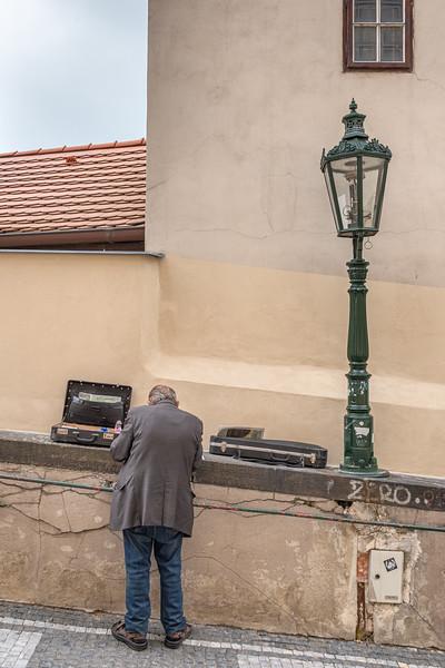 Probably a Street Musician - Prague, Czech Republic - May 17, 2019