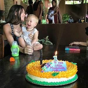 ZELENIA'S 1ST BIRTHDAY IN GOA