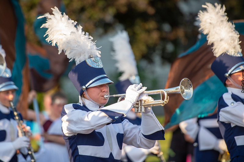 DC Chargers Marching  Band at Pioneerland Band Festival