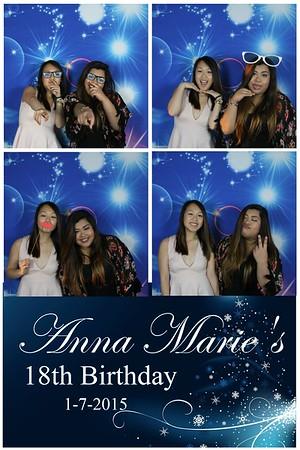 Anna Marie 18th Birthday