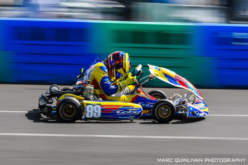 Motorsport Ireland Karting Championship 2019 - Round 3 - Whiteriver - Alyx Coby