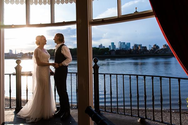 Heather & Ben's Greenwich Wedding