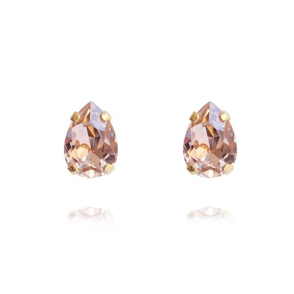 Petite Drop Earrings / Vintage Rose