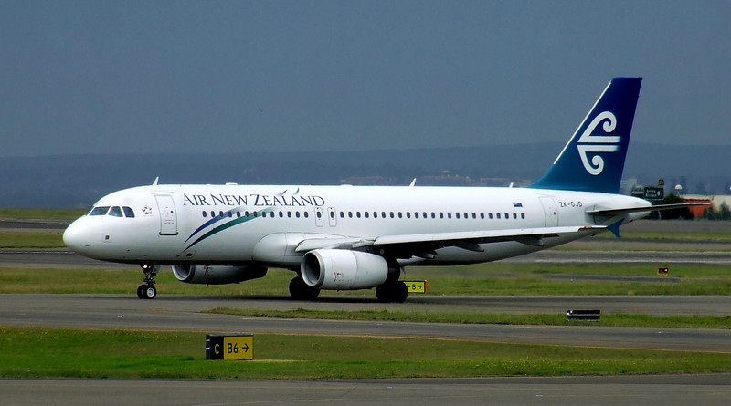 Air New Zealand Airbus A320-232 ZK-OJD