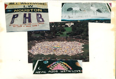 10-7-1989 Names Project-AIDs Quilt on Mall