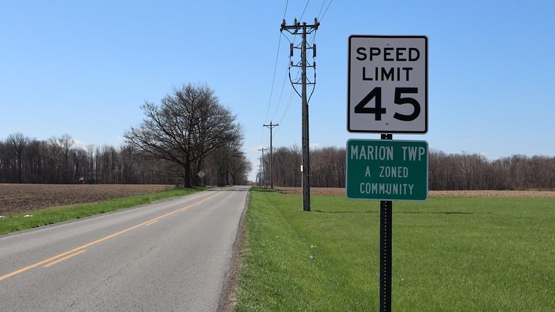 Entering Marion Township