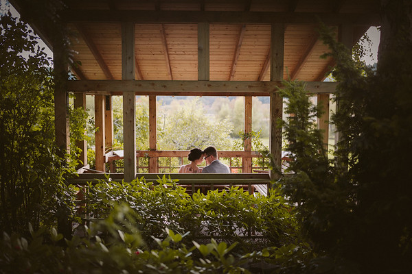 Erika & Brad - Wedding Ceremony - HCP Gardens |  Victoria, BC