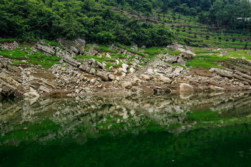 Reflections along Yangtze River