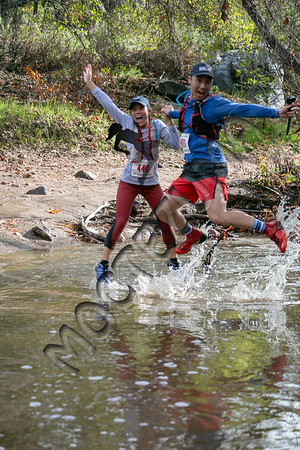 Trail Marathon - Creek crossing
