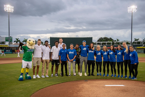 FGCU Night - First Pitch @ Miracle Game 2018