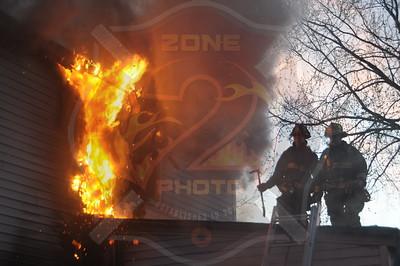 Westbury F.D. Working Fire  240 Sheridan St. 4/26/15