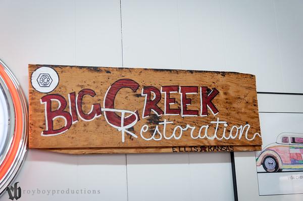 2014 Sept Big Creek Restoration Shop Visit