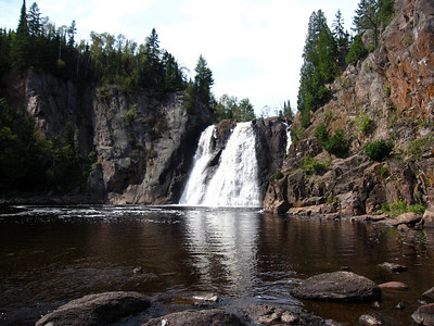 Waterfalls of Tettegouche State Park