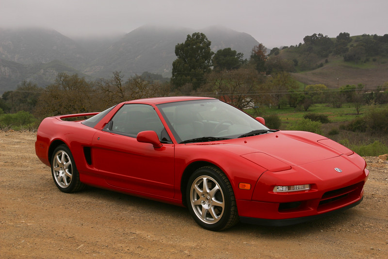 2004 03/21: NSX on Las Virgenes