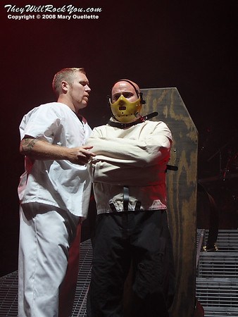 Mayhem Festival - Disturbed<br>August 2008 <br>Photos By: Mary Ouellette