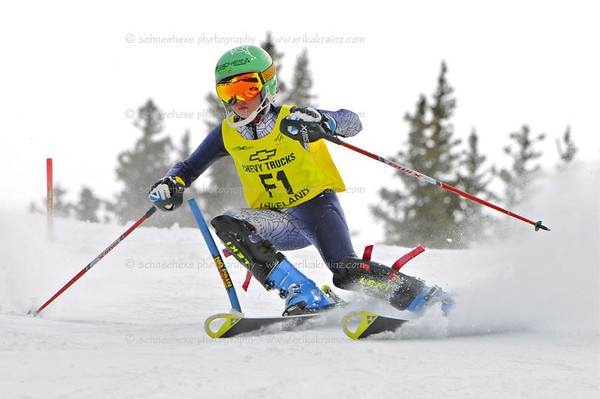 2-12-12 YSL SL at Loveland - Ladies Race #1